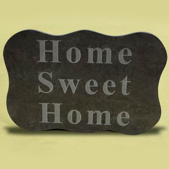 Valentia Slate Home Sweet Home sign
