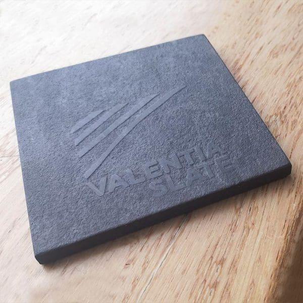 Valentia Slate engraved coaster