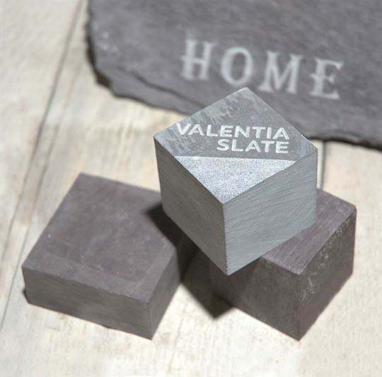 Valentia Slate small paperweights